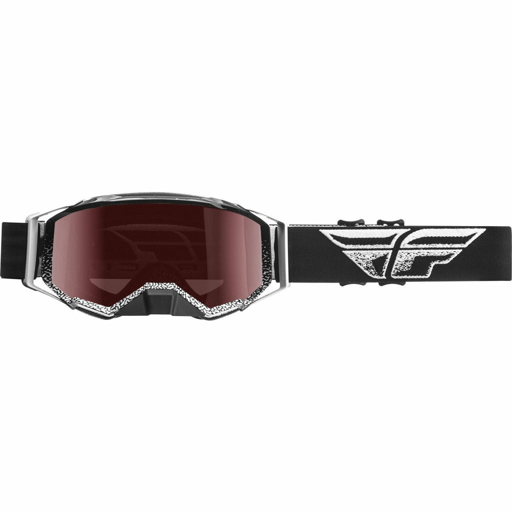Fly Racing Watersport Zone Pro Goggle Fly Racing Off-Road Black/White W/Polarized Bronze Lens