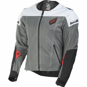 Fly Racing Flux Air Mesh Jacket Jacket Fly Racing BLACK/WHITE 3X
