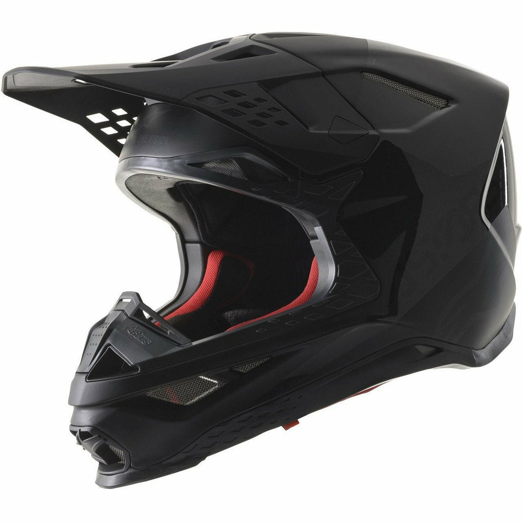 Alpinestars Supertech M-8 Echo Helmet Helmet ALPINESTARS BLACK/ANTHRACITE/M&G 2XL