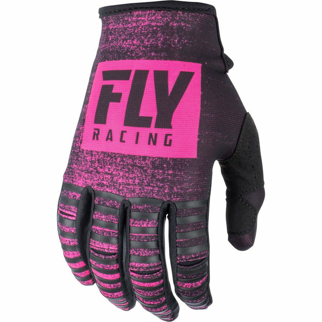 Fly Racing Kinetic Noiz Gloves Gloves Fly Racing NEON PINK/BLACK 04
