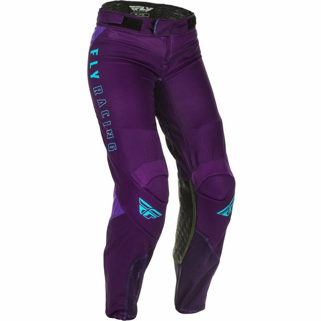 Fly Racing W Lite Pants 21 Fly Racing 2021 PURPLE/BLUE 00/02