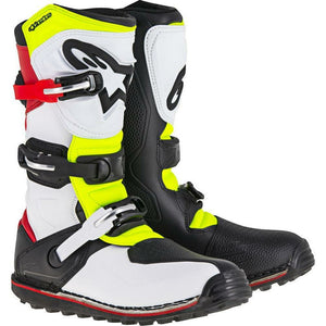 Alpinestars Tech T Boots Footwear ALPINESTARS WHITE/RED/YELLOW/BLACK 5