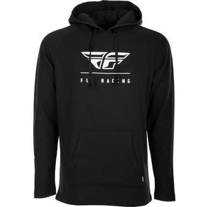 Fly Racing Crest Hoodie 2020 Casual Fly Racing BLACK 2X