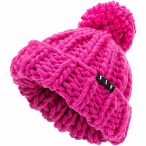 Fly Racing W Chunky Pom Beanie 21 Fly Racing 2021 PINK OS
