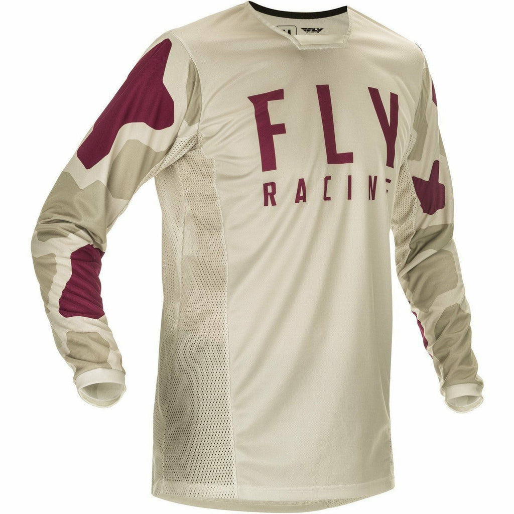 Fly Racing Youth Kinetic K221 Jersey 21 Fly Racing 2021 STONE/BERRY YL