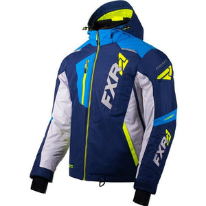 FXR Mission FX Men's Jacket 2020 Jacket FXR 2020 Navy/Lt Grey/Blue/Hi Vis S