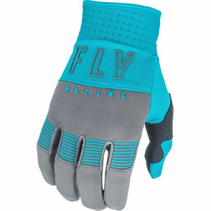 Fly Racing Youth F16 Gloves 21 Fly Racing 2021 GREY/BLUE 1