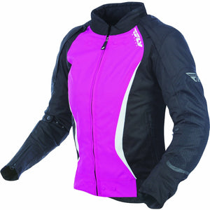 Fly Racing Women's Motocross Butane Jacket Jacket Fly Racing BLACK/PINK 3X