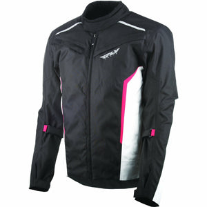 Fly Racing Baseline Jacket Jacket Fly Racing BLACK/WHITE/RED SM