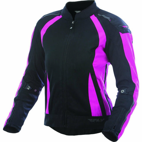 Fly Racing Women's Coolpro Street Jacket Jacket Fly Racing PINK/BLACK 3X