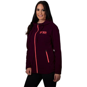 FXR Cozy Fleece Women's Hoodie 2020 Hoodie FXR 2020 Plum Heather/Coral XS