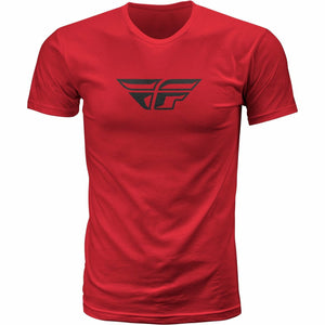 Fly Racing F-Wing Tee T-Shirt Fly Racing RED MD
