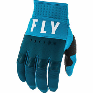 Fly Racing Youth F-16 Gloves Fly Racing Off-Road Navy/Blue/White 1