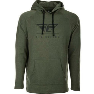 Fly Racing Crest Hoodie 2020 Casual Fly Racing MILITARY GREEN 2X