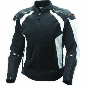 Fly Racing Coolpro Mesh Jacket Jacket Fly Racing WHITE/BLACK 3X