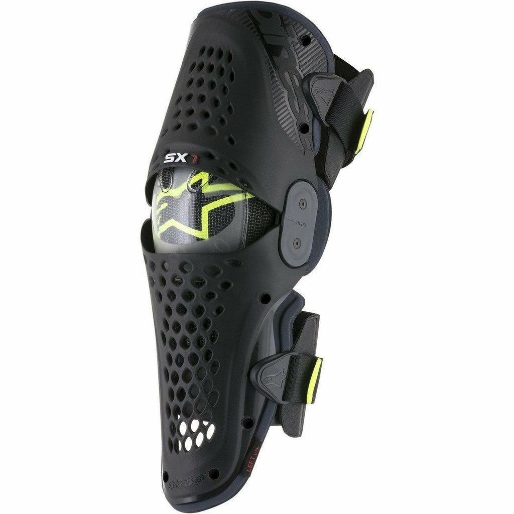 Alpinestars SX-1 Knee Guards Alpinestars To Do BLACK/ANTHRACITE 2XL