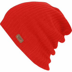 Fly Racing Slouch Beanie Fly Racing Off-Road Red