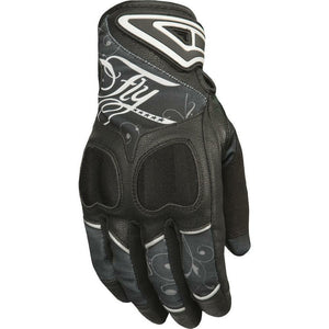 Fly Racing Women's Venus Street Gloves Gloves Fly Racing BLACK/GREY XL