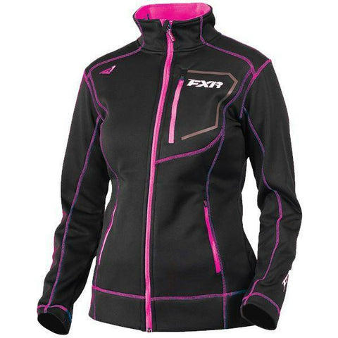 FXR Elevation Tech Women's Zip-Up | Sale Jacket FXR Black/Fuchsia X-Small