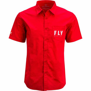 Fly Racing Pit Shirt 2020 Fly 2020 RED 2X