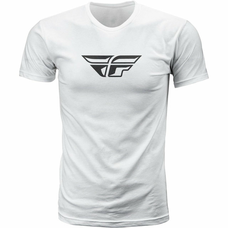 Fly Racing F-Wing Tee T-Shirt Fly Racing WHITE XL