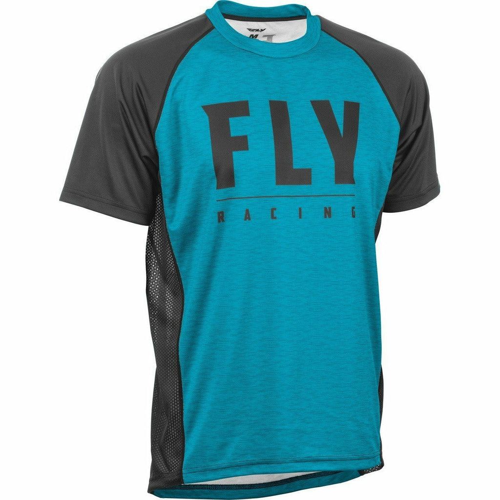 Fly Racing Super D Jersey 21 Fly Racing 2021 Blue Heather/Black 21 LG
