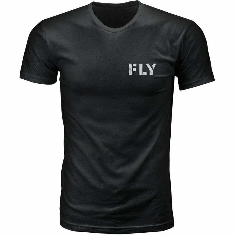 Fly Racing Military Tee 21 Fly Racing 2021 BLACK 2X