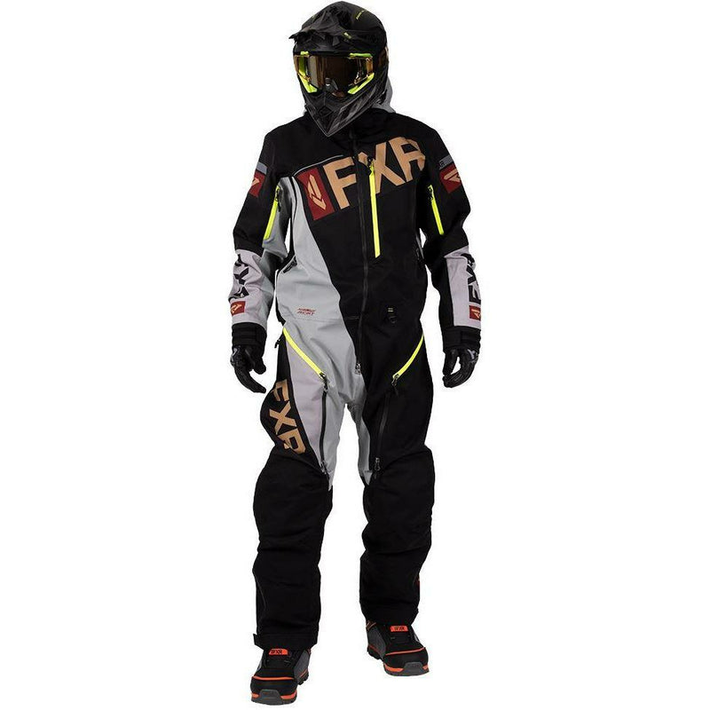FXR Ranger Insulated Men's Mono 2020 Monosuit FXR 2020 Black/Grey/Rust/Gold XS