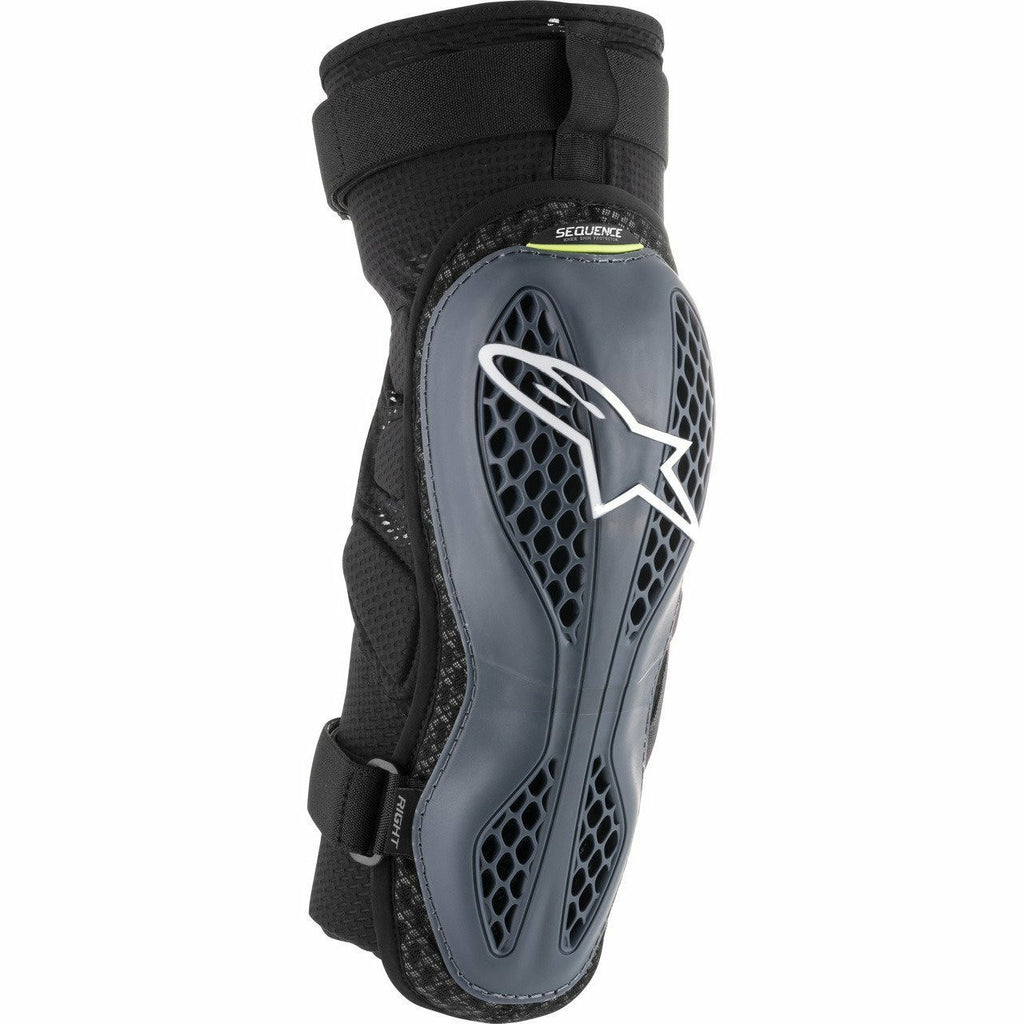 Alpinestars Sequence Knee Protectors Body Armor ALPINESTARS ANTHRACITE/YELLOW 2XL