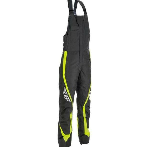 Fly Racing Outpost Bib Pants & Bibs Fly Racing Black/Hi-Vis 2X