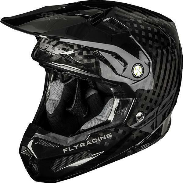 Fly Racing Formula Solid Helmet Helmet Fly Racing Black Carbon YL