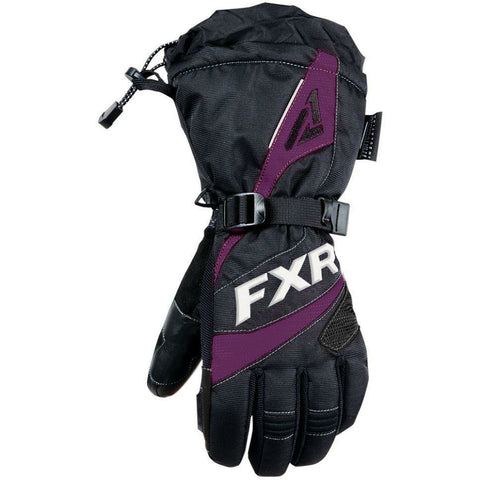 FXR Fusion Women's Glove 2019 Gloves FXR Black/Plum XS
