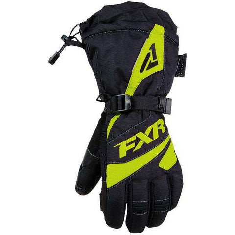 FXR Fusion Women's Glove | Sale Gloves FXR Black/Hi-Vis X-Small