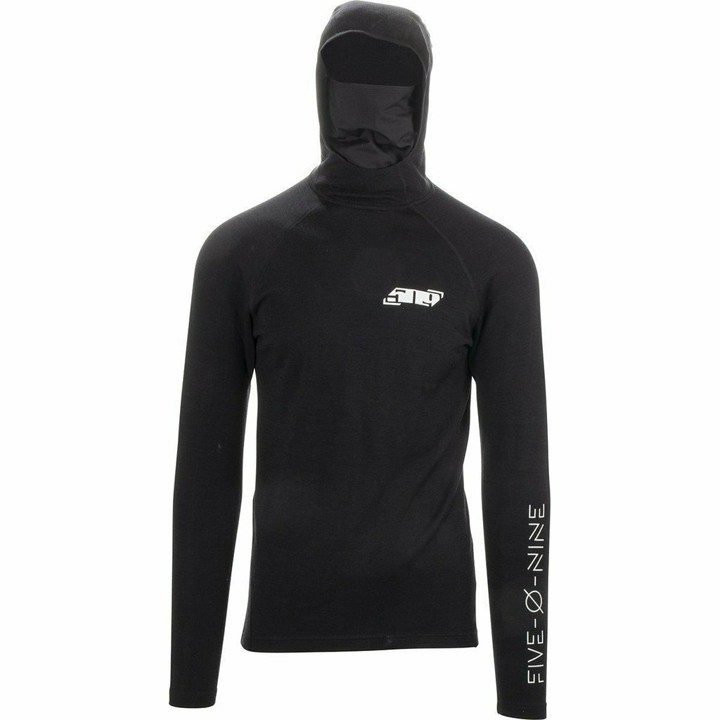509 FZN Merino Hooded Shirt 2020 Layers 509 Black XS