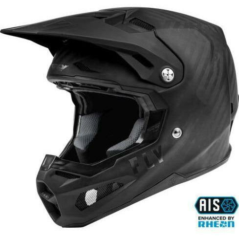 Fly Racing Youth Formula Carbon Solid Helmet 21 Helmet Fly Racing MATTE BLACK CARBON YL