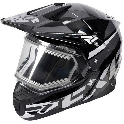 FXR FX-1 Team Helmet- Electric Shield Helmet FXR Black Ops Small