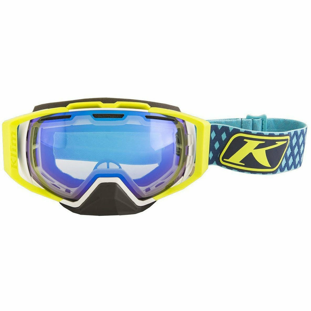 Klim Oculus Goggle Goggles Klim Diamond Fade Blue - Smoke Blue Mirror and Blue Tint Lens