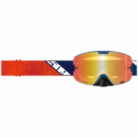 Kingpin Fuzion Offroad Goggles Goggles 509 Orange Navy