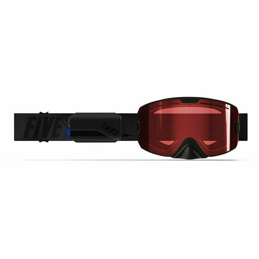 509 Kingpin Ignite Goggle 2020 Goggles 509 Black with Rose Heated Rose Tint