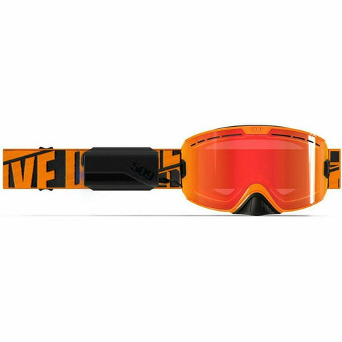 509 Kingpin Ignite Goggle 2020 Goggles 509 Particle Orange Heated Fire Mirror/Rose Tint