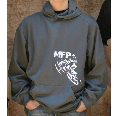MFP Athletic Hoodie Hoodie MoreFreakinPower Graphite Small