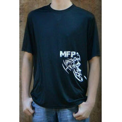 MFP Performance Crew T-Shirt Vintage Logo T-Shirt MoreFreakinPower Black Small