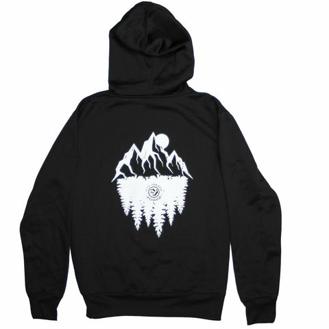 MFP Pull-Over Mountain Hoodie 2019 Hoodie MoreFreakinPower Black Small