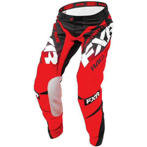 FXR MISSION MX PANT 18 Pants & Bibs FXR BLACK/RED/WHITE 30