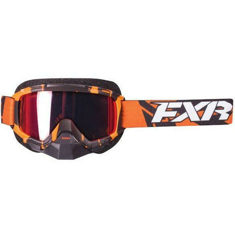 FXR Mission Recon Moto Goggle Goggles FXR Orange