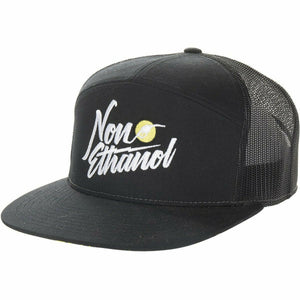 509 Non-Ethanol 7 Panel Snapback Hat 2020 Hat 509 Black