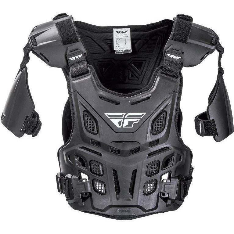 Fly Racing CE Revel Offroad Roost Guard Body Armor Fly Racing BLACK ADULT