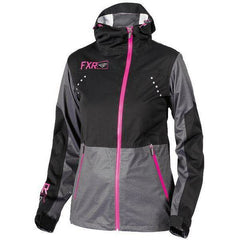 FXR Rush Dual.5 Laminate Women's Jacket | Sale Jacket FXR Black/Fuchsia 2