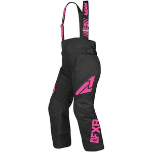 FXR Youth Clutch Pant 2019 Pants & Bibs FXR Black/Elec Pink 12