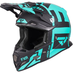 FXR Boost Clutch Helmet 2019 Helmet FXR Black/Mint XS